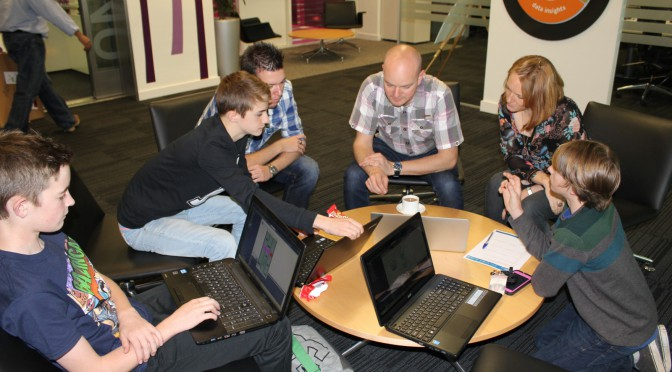 Game design competition mentoring