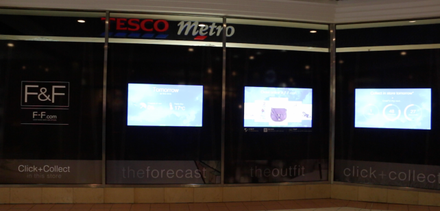 The F&F Forecaster at Hammersmith Tesco Metro