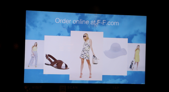 Screen 2: Recommended F&F Clothing